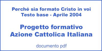 Progetto formativo Azione Cattolica Italiana